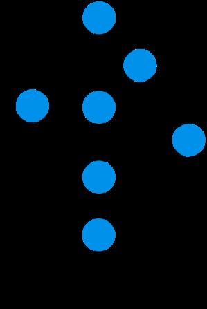 sidetree logo - a merkle tree mapped onto a tree leaf